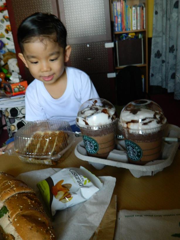 Starbucks Takeouts (1/5)